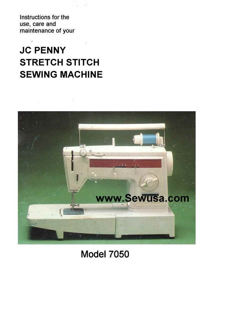Jc Penney Sewing Machine Instruction Manuals And Repair Sewusa Threading Diagrams Wpedb 53872 Bytes